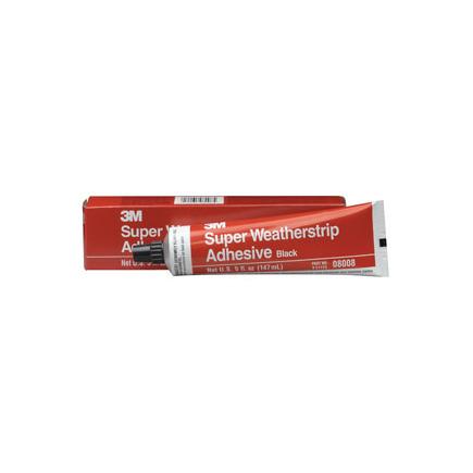 8008 by 3m super weatherstrip adhesive 08008 black 5 oz tube
