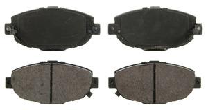 ZD571 by FEDERAL MOGUL-WAGNER - QuickStop Ceramic Disc Brake Pad Set