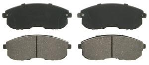 ZD815B by FEDERAL MOGUL-WAGNER - QuickStop Ceramic Disc Brake Pad Set