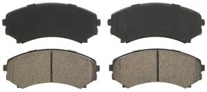 ZD867 by FEDERAL MOGUL-WAGNER - QuickStop Ceramic Disc Brake Pad Set