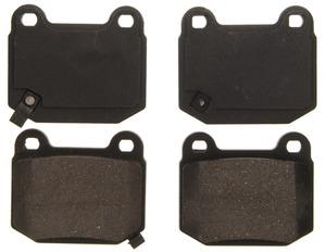 ZD961 by FEDERAL MOGUL-WAGNER - QuickStop Ceramic Disc Brake Pad Set