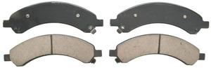 ZD989 by FEDERAL MOGUL-WAGNER - QuickStop Ceramic Disc Brake Pad Set