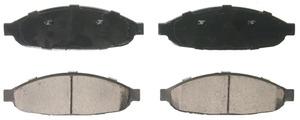 ZD997 by FEDERAL MOGUL-WAGNER - QuickStop Ceramic Disc Brake Pad Set