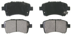 ZD937 by FEDERAL MOGUL-WAGNER - QuickStop Ceramic Disc Brake Pad Set