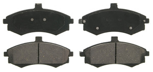 ZD941 by FEDERAL MOGUL-WAGNER - QuickStop Ceramic Disc Brake Pad Set