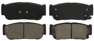 ZD954 by FEDERAL MOGUL-WAGNER - QuickStop Ceramic Disc Brake Pad Set