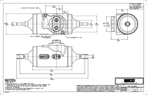 03-140-011 by MICO - WHEEL CYLINDER (Please allow 7 days for handling. If you wish to expedite, please call us.)