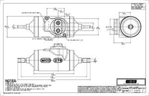 03-140-013 by MICO - WHEEL CYLINDER (Please allow 7 days for handling. If you wish to expedite, please call us.)