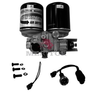 R955029 by MERITOR - AIR DRYER TWIN ASSEMBLY