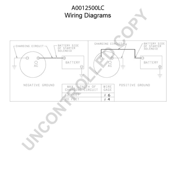 delco alternator wiring diagram positive ground schematic diagrams rh ogmconsulting co