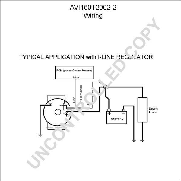 avi160t2002 2 by leece neville high output alternator use new rh finditparts com high output alternator wiring diagram high amp alternator wiring