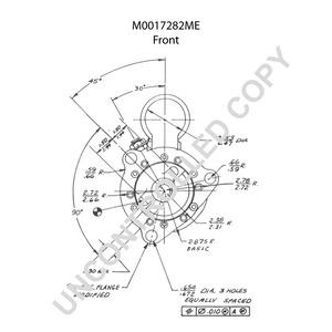 M0017282ME by LEECE NEVILLE - Heavy Duty Starter Motor