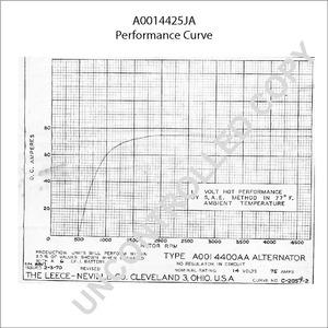 A0014425JA by LEECE NEVILLE - High Output Alternator