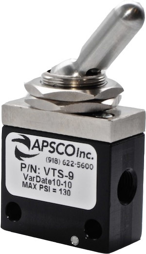 Vts 9 By Apsco Valve 3 Pos