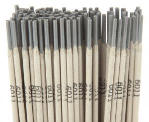 "31105 by FORNEY INDUSTRIES INC. - Stick Electrode E6011, ""Deep Penetration"" Mild Steel 3/32"" 5 Lbs."
