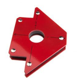 70717 by FORNEY INDUSTRIES INC. - Magnetic Welding Jig with Center Hole, Medium, Lifts up to 50 Lbs.