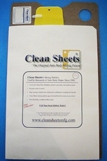 CS200 by CLEAN SHEETS - G.GARY HOLT ENTERPRISES - 12 X 20 Disposable Mixing Board