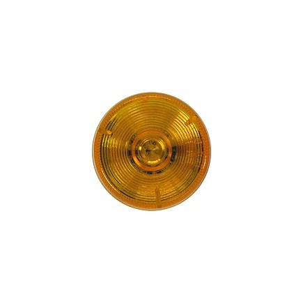 """PM165A by PETERSON LIGHTING - AMBER 2"""" PC RATED CLEARANCE & SIDE MARKER 5 DIODE POLY PACK"""