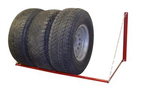 M998058 by MERRICK MACHINE CO. - Wheel Storage Rack - Adjustable (250 lb. cap)