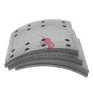 F5574551BD by MERITOR - FRICTION MATERIAL - BRAKE LINING KIT, PER AXLE
