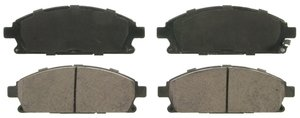 ZD855A by FEDERAL MOGUL-WAGNER - QuickStop Ceramic Disc Brake Pad Set