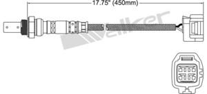 250-54018 by WALKER AIR BRAKE - OXYGEN SENSOR