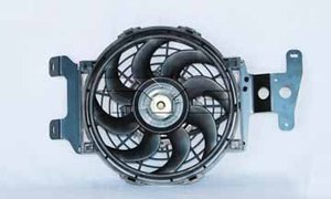 600670 by TYC PRODUCTS - COOLING FAN ASSY