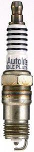 APP765 by AUTOLITE SPARK PLUGS - DBL PLTNM SPARK PLUG
