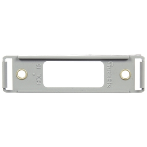 19737 by TRUCK-LITE - 19 Series, Open Back Bracket Mount, 19 Series Products, Used In Rectangular Shape Lights, Gray Polycarbonate, 2 Screw Bracket Mount