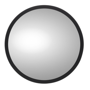 97665 by TRUCK-LITE - Assembly, 8 in., White Stainless Steel Convex Mirror, Round, Universal Mount