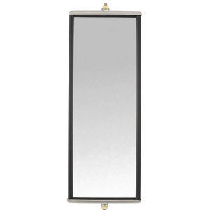 97812 by TRUCK-LITE - Box Style, 6 x 16 in., West Coast Mirror, Silver Stainless Steel