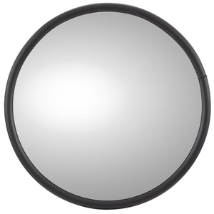 97835 by TRUCK-LITE - 12 in., Grey Steel Convex Mirror, Round, Universal Mount