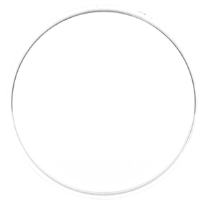 99120C by TRUCK-LITE - Round, Clear, Polycarbonate, Replacement Lens for Par 36 Sealed Beams, Snap-Fit