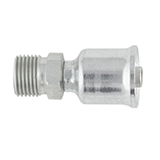 10126-12-12 by PARKER HANNIFIN - Crimp Style Hydraulic Hose Fitting – 26 Series Fittings