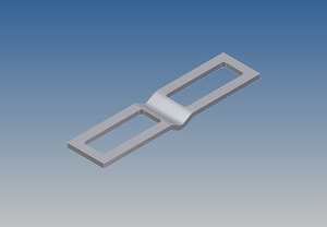 2804 by WHITING DOOR MANUFACTURING - LATCH PLATE