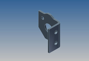 2524 by WHITING DOOR MANUFACTURING - BALANCER BRKT - R/S