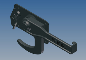4077 by WHITING DOOR MANUFACTURING - LOCK,NO KEEPER