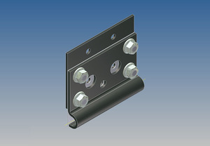 5600 by WHITING DOOR MANUFACTURING - BOTTOM ROLLER BRACKET ASSY