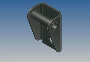 6943 by WHITING DOOR MANUFACTURING - HEAVY DUTY TOP SLIDE BRACKET