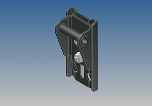 6944 by WHITING DOOR MANUFACTURING - TOP CLOSURE BRACKET COMPLETE
