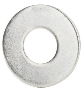 "1133004 by FASTENAL - 1/4"" x 0.734"" OD Low Carbon Zinc Finish Steel USS General Purpose Flat Washer"