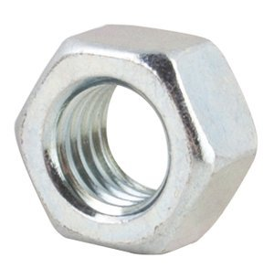 """1136102 by FASTENAL - 1/4""""-20 Zinc Finish Grade A Finished Hex Nut"""