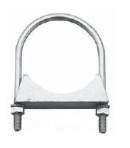 """AMC188 by POWER PRODUCTS - Automotive Clamps Clamp, 1-7/8"""" U-Bolt Type Exhaust"""