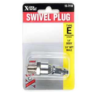 15-7110 by GROUP 31 XTRA SEAL  - Swivel Plug 1/4in Bdy 1/4in NPT M