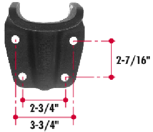 E289-43 by TRIANGLE SUSPENSION SYSTEMS CO. - Ford Helper Bracket