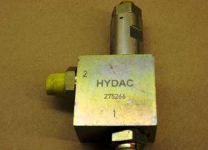 275266 by HYDAC - PRESSURE RELIEF VALVE