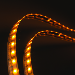 L12510803 by GROTE - XTL LED Light Strip, Yellow, 22.67 in | 576 mm