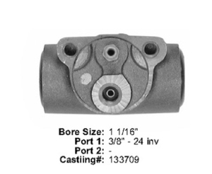 E13971019 by BENDIX - Wheel Cylinder