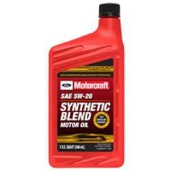 XO*5W20*QSP by MOTORCRAFT - 5W-20 Premium Synthetic Blend Motor Oil Quart