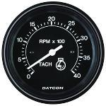 "100230 by DATCON INSTRUMENT CO. - Tachometer (86mm/3.375"")"